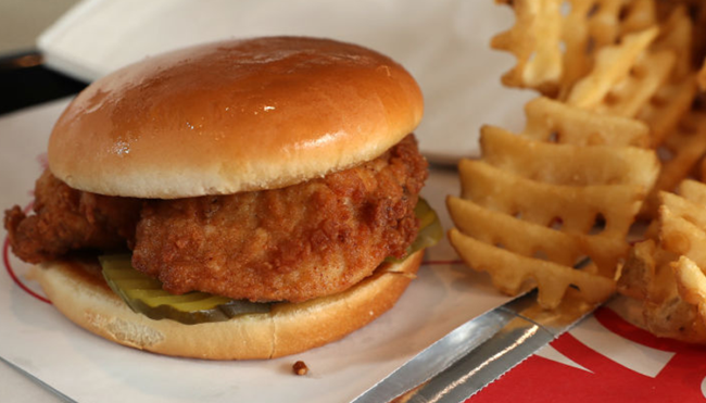 how to order Chick-fil-A sunday