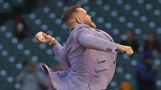 Conor McGregor Writes 200 Word Essay On Why His Horrible First Pitch Was Better Than 50 Cent's