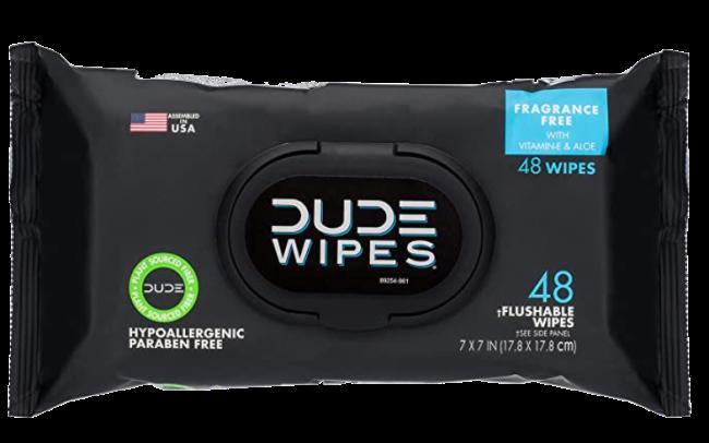 DUDE Wipes Flushable Wipes Dispenser