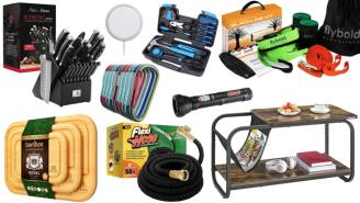 Daily Deals on Amazon: Knife Sets, Carabiners, Slackline Kits And More!