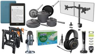 Daily Deals on Amazon: Swiffer Mops, Kindles, Cookware Sets And More!