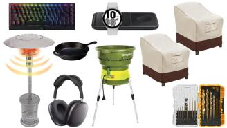 Daily Deals on Amazon: Patio Heaters, Drill Bits, AirPods Max And More!