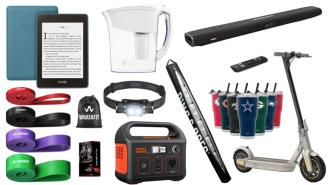 Daily Deals on Amazon: Headlamps, NFL Tumblers, Brita Filters And More!