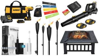 Daily Deals on Amazon: Exercise Bands, Tiki Torches, Drill Bits And More!