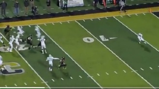 Even ESPN's Cameraman Gets Faked Out After Marshall Perfectly Executes Fake Reverse Trick Play On Kickoff