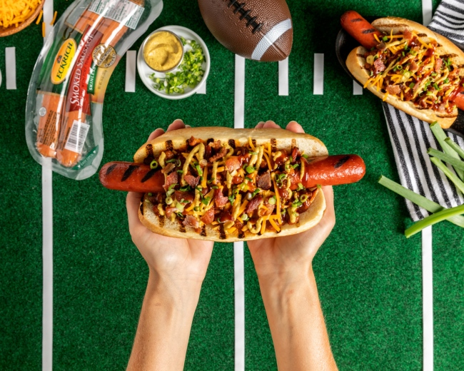 Eckrich hotdog