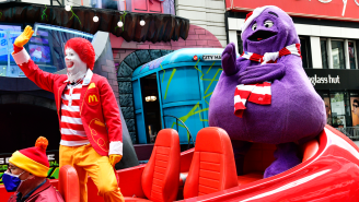 Creepy Explanation Of What The McDonald's Character Grimace Is Leaves People Reeling