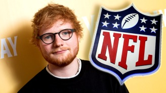 Fan Reaction To NFL Graphic Announcing Ed Sheeran's Performance On Opening Night Was Savage, Hilarious