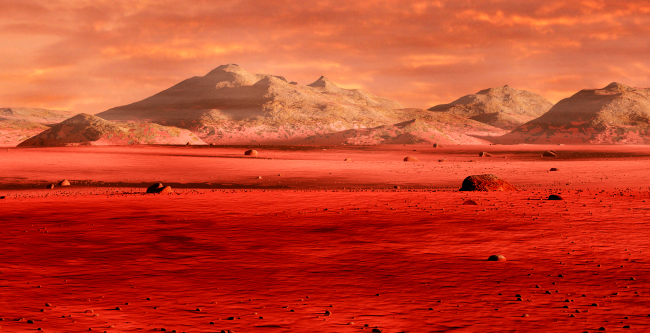 First Colonists On Mars May Have To Use Their Blood To Create Concrete