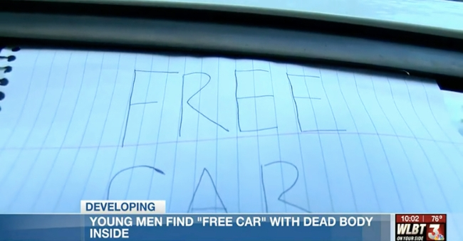 Free Car Dead Body Mississippi