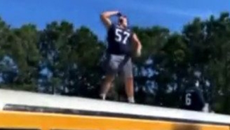 Georgia Southern Linebacker Suspended For Pregame Beer-Chugging Stunt Atop Moving Bus