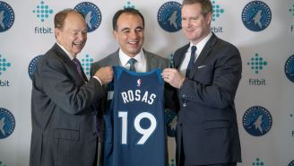 Timberwolves Reportedly Fired Team Exec Gersson Rosas After Finding Out He Had An 'Inappropriate Relationship' With Female Staffer