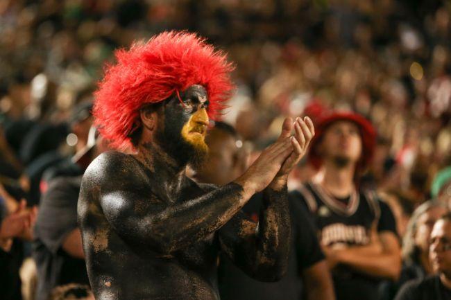Louisville Cardinals Fan Sabotage Kentucky Game Day