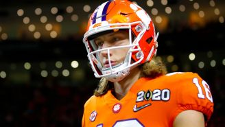 Trevor Lawrence Paid Up On His Clemson Bet And Looked Embarrassed To Wear Georgia Gear