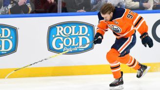 Skating Wind Sprints Against Connor McDavid Looks Absolutely Demoralizing