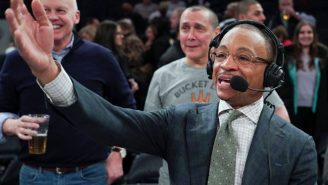 Death, Taxes, GUS JOHNSON GOING CRAZY IN THE BOOTH