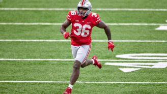 Ohio State LB K'Vaughan Pope Quits On Team In Middle Of Game,  Jumps On Twitter, And Posts 'F*** Ohio State'