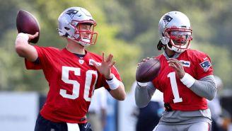 Rookie Mac Jones Was Reportedly Teaching Cam Newton The Patriots' Playbook