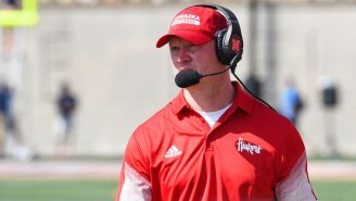 Everybody Clowned On Scott Frost For His Giant Headset During Nebraska's Loss To Oklahoma
