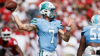 Tulane Is Bringing Back The Greatest Throwback Helmets In Football Against Ole Miss