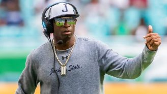 Deion Sanders Doesn't Care About Getting Paid $300,000 To Lose Games And Wants To Make History