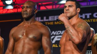 Vitor Belfort Says 58-Year-Old Evander Holyfield Has 'Big Balls' For Taking Fight On Short Notice