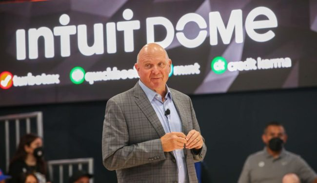 Steve Ballmer Clippers Intuit Dome Bathrooms