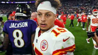 Patrick Mahomes' Brother Jackson Reacts To Getting Caught On Video Throwing Water At Ravens Fan