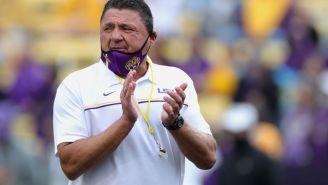 UCLA Trolls LSU Head Coach Ed Orgeron Over 'Sissy Blue Shirt' Comment
