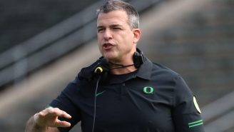 Mario Cristobal Absolutely Eviscerated Doug Gottlieb When He Asked About The USC Opening