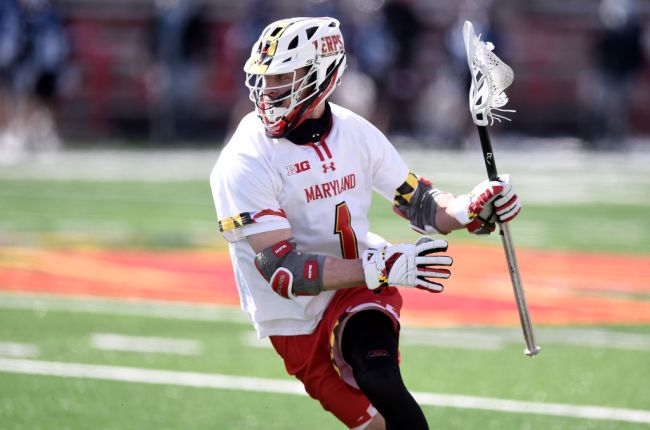 Jake Bernhardt Maryland Lacrosse Ferris State Quarterback College Football