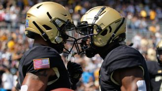 Everybody Stay Calm, But Army Is On Pace To Break Its Single-Season Passing Touchdown Record
