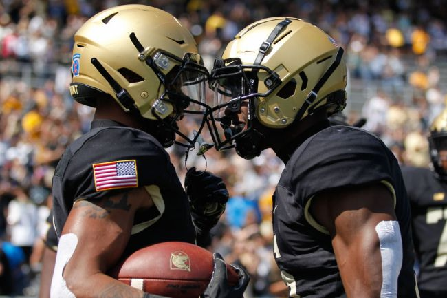 Army Football Passing Touchdown