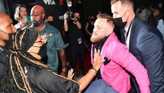 Conor McGregor Reportedly Tried To Fight Machine Gun Kelly Because MGK Didn't Want To Take A Picture With Him