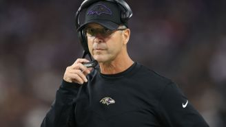 Video Shows John Harbaugh Asking Lamar Jackson If He Wanted To Go For It On 4th Down Before Game-Winning First Down