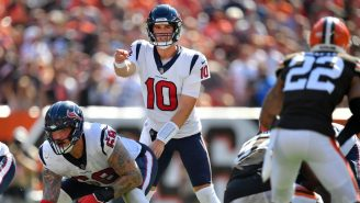 Texans Rookie QB Davis Mills Did Not See A Blitz Coming AT ALL And Got CRUSHED