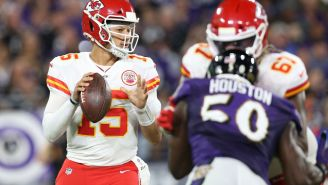 Patrick Mahomes' Brother Jackson Filmed Pouring Water On Ravens Fan During Altercation After Chiefs' Loss