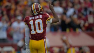 Robert Griffin III Wants Washington To 'Make The Call' After Ryan Fitzpatrick Was Placed On IR