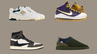 Kicks O'Clock: Jordan 1 Travis Scott, Lebron 7 Lakers, ALD 500s, And More