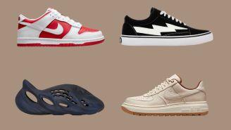 Kicks O'Clock: Nike Dunk Low Championship Red, New Balance Jaden Smith, And More