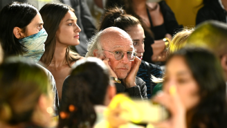 Larry David's Daughter Cazzie Says She Found Viral Images Of Her Dad 'Disturbing'