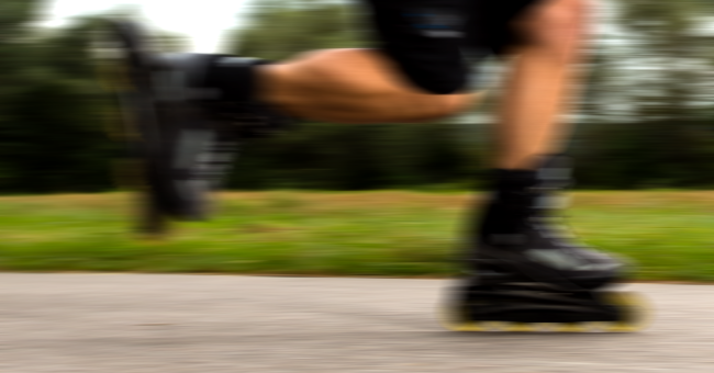 Man Goes Viral On TikTok For Racing Away From Cops On Rollerblades
