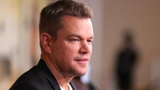 Internet Sleuths Immediately Tracked Down Matt Damon's Secret Instagram Based On A Few Tiny Details