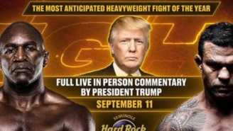 Donald Trump Will Provide Live Commentary For Evander Holyfield-Vitor Belfort PPV Fight