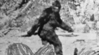 Pair Of Bigfoot Spotted Entering Coal Mine In The Mountains Of Northwest Kentucky