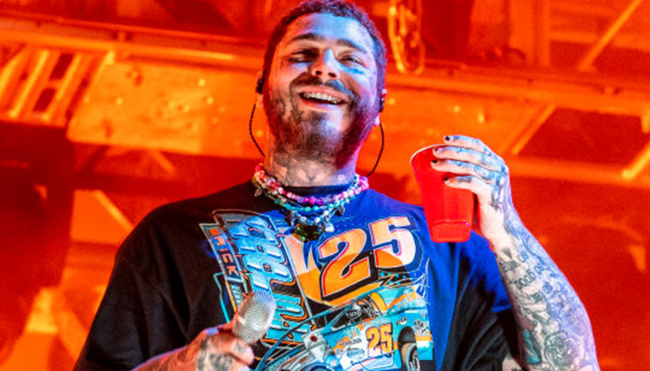 Post Malone thanks firefighters saved vineyard