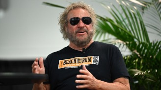 Legendary Rocker Sammy Hagar Shares Vivid Details About The Time He Was Abducted By Aliens