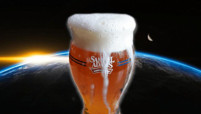 Sam Adams space hops SpaceX beer