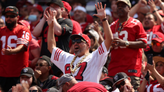 49ers Fan Who Skipped Work To Attend A Game Shares Texts His Boss Sent After Seeing Him On TV