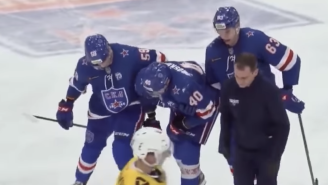 This Russian Hockey Player Who Blocked Three Shots On One Shift Is The Ultimate Hockey Guy